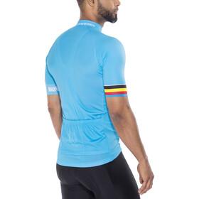 Bioracer Van Vlaanderen Pro Race Koszulka rowerowa z zamkiem błyskawicznym Mężczyźni, niebieski